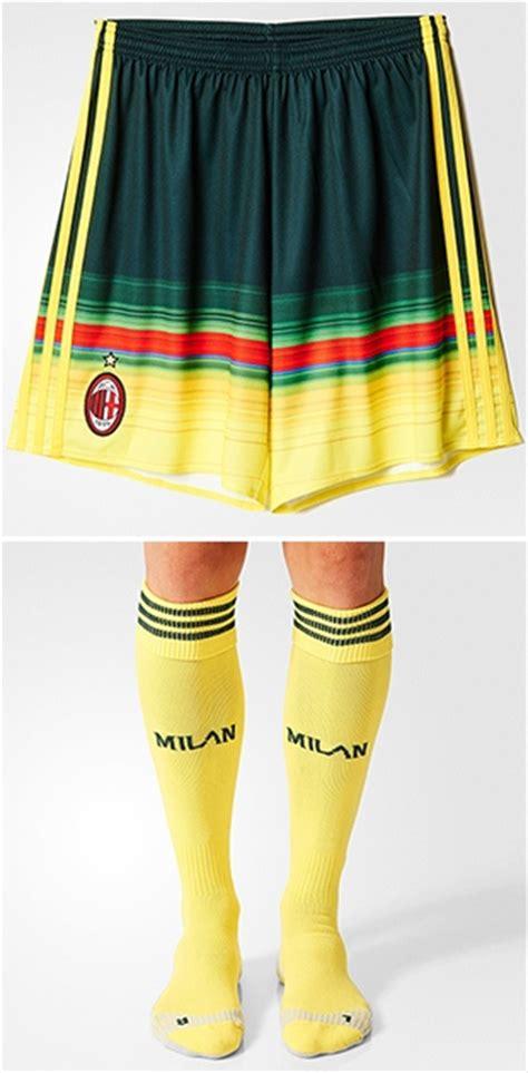 Ac Milan 3rd Jersey 2015 2016 new ac milan third kit 2015 2016 green milan jersey 15 16 adidas football kit news new