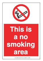 no smoking sign pdf free free paper signs and label suppliers uk largs