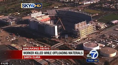 2nd worker dies in 4 months at new 49ers stadium site capitalbay