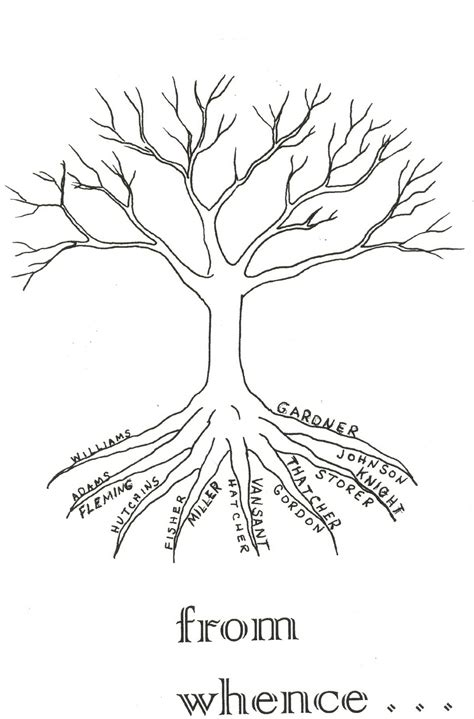 coloring page of tree with roots coloring pages of trees with branches diannedonnelly com