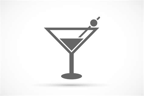 cocktail icon cocktail glass icon icons on creative market