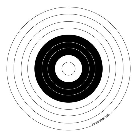 printable targets for shooting printable targets printable archery targets archery