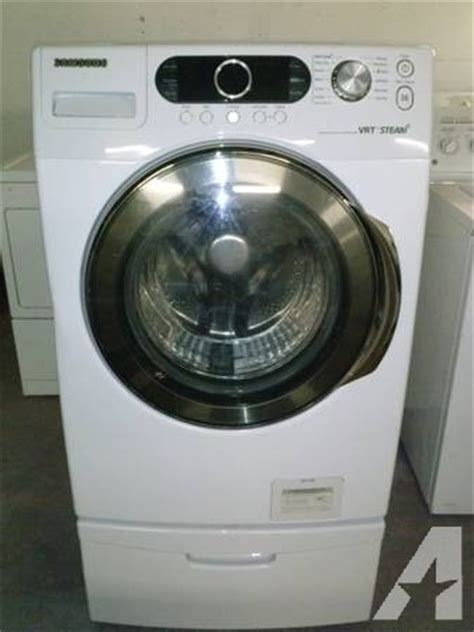 samsung front load washer vrt steam silver care delivered installed for sale in palm desert
