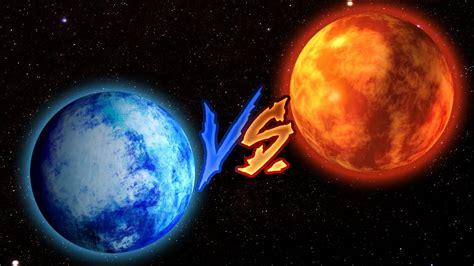 imagenes extra as de otros planetas mira lo que pasa cuando un planeta de hielo choca contra
