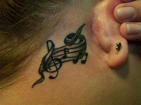 64 fantastic music neck tattoos