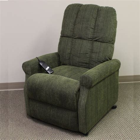 Recliner Chair Replacements by Green Microfiber Lift Chair With Single Motor Lazy