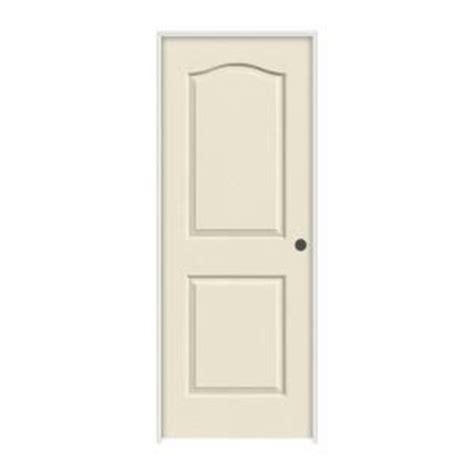 home depot hollow interior doors jeld wen smooth 2 panel eyebrow top hollow primed