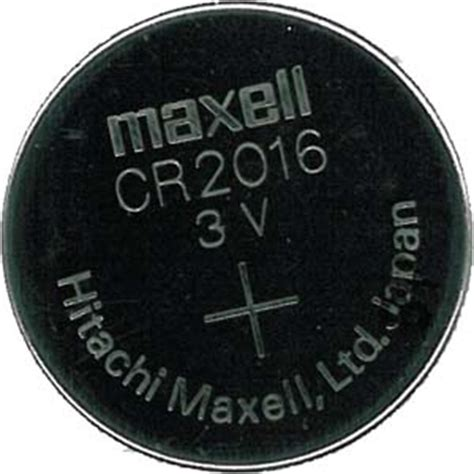 Batere Cr 2016 Maxell Lithium Kancing Cr2016 Cr 2016 Mobil inspectusa button cell maxell 3 volt lithium battery cr2016 1 6x20mm