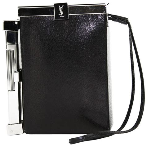Fashion Bag Cig 10245 new tom ford for yves laurent s s 2001 leather cigarette and lighter for sale at 1stdibs