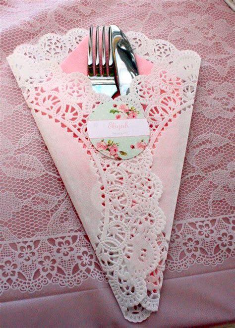 11 usos de las blondas en tu boda tante idee shabby realizzate con i centrini di carta il