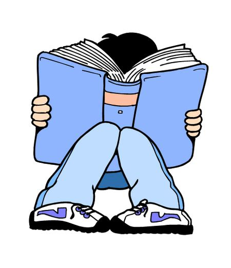 free pictures of books and reading clip children reading books clipart best