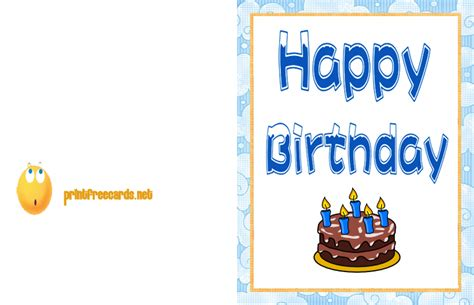 Free Printable Birthday Cards Happy Birthday Cards Printable