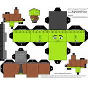 Frankenstein Paper Toy  Free Printable Papercraft Templates