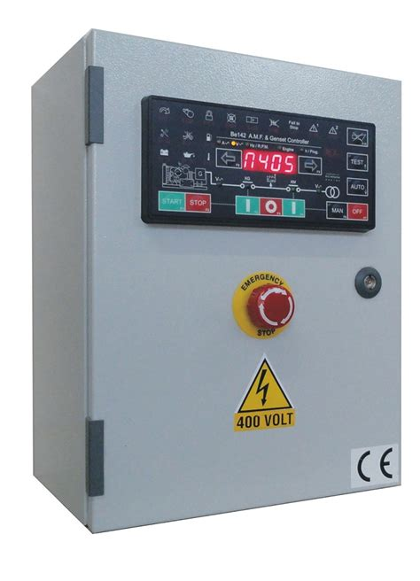 automatic mains failure control panel genset controller