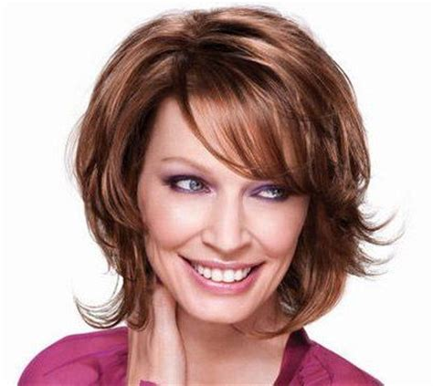 haircuts for wispy mousy brown short wispy layered hairstyles brown hair is styled in a