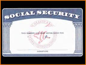 Social Security Card Template by Blank Social Security Card Template Www Imgkid The