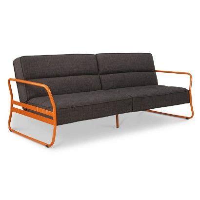 target futon room essentials room essentials niles futon black gray