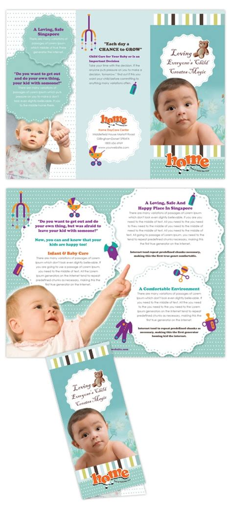 Child Care Brochure Template Free by 17 Best Images About Brochure On Baby