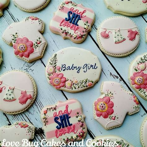 Pink Baby Shower Cookies Recipes by Birthday Baby Shower Diy Craft