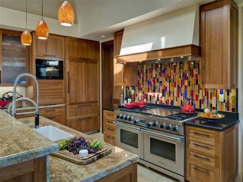 2014 Colorful Kitchen Backsplashes Ideas Furniture Design