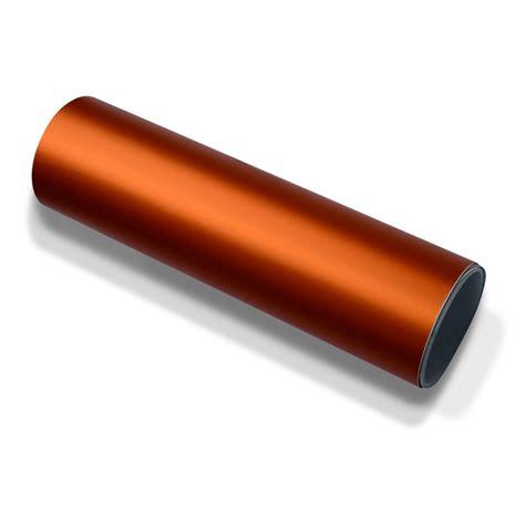 Metallic Folie Selbstklebend by Autofolie Orange Matt Chrom Metallic Selbstklebend