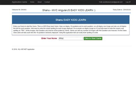javascript module pattern public variables easy kids learn game using mvc and angularjs