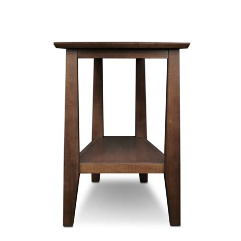 recliner wedge table leick furniture delton sienna recliner wedge table 10402