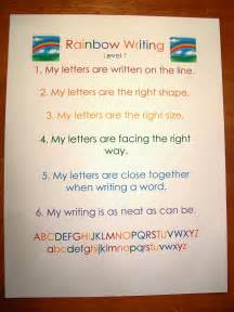 Rainbow Essay In by Rainbow Writing Every Is Different