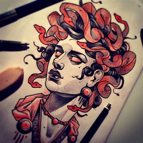 medusa como desenhar e pintar por bode annihilator youtube