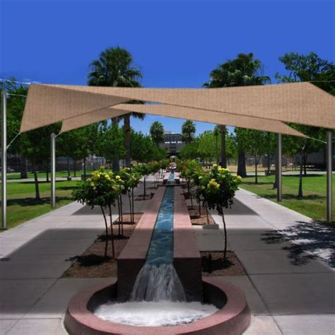 shade sails awnings canopies phoenix oversized 18 5 square sun shade sail canopy kings
