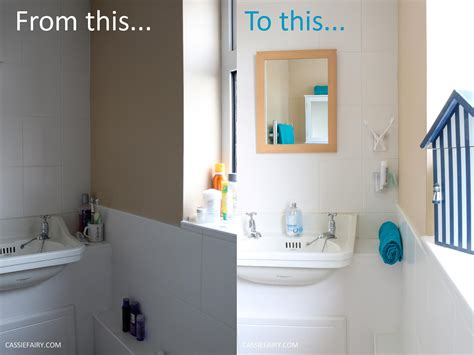 Bathroom Makeover Cost by A Bathroom Makeover On A Budget