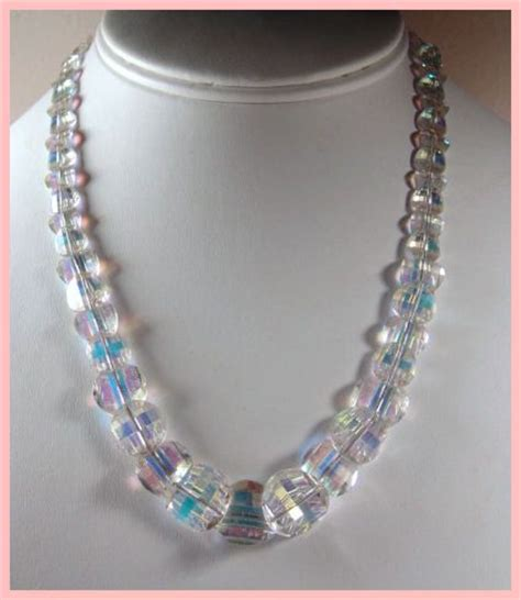 signed exquisite swarovski pagoda bead necklace