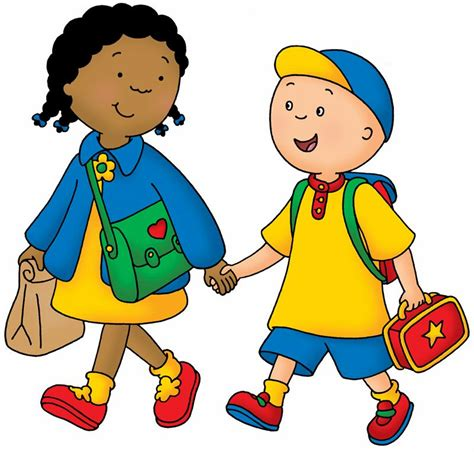 image caillou clementine jpg caillou wiki fandom powered wikia