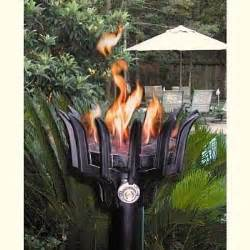 outdoor torch lighting the best outdoor gas lighting options for your backyard