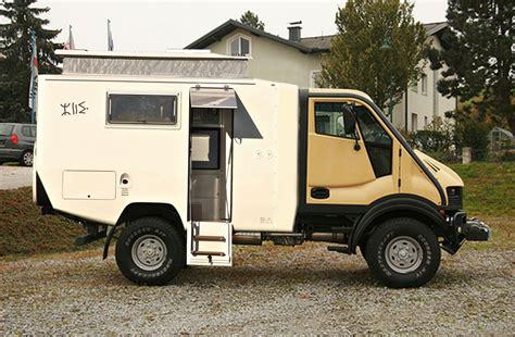 cellule cing car sur camion 4x4 am 233 nag 233 cing car 4x4 cellule sur porteur 4x4 ou
