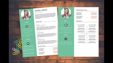 how to create a cv template in word how to create cv resume in ms word