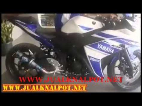 Knalpot Racing Yamaha R25 Akrapovic Megaphon Fullsystem jual knalpot yamaha r25 motogp termignoni