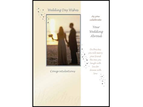 Order Wedding Brochures Abroad by Wedding Day Wishes As You Celebrate Your Wedding Abroad