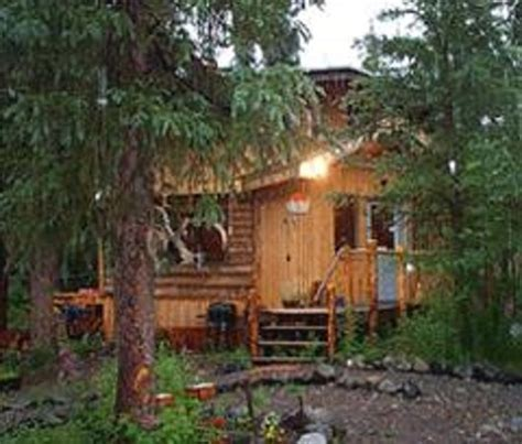 Morning Cabins by