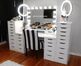 Bedroom Vanity Sets With Lighted Mirror 25 Best Ideas About Ikea Vanity Table On Pinterest
