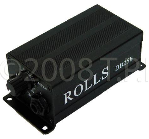 rolls db25b matchbox direct box with groundlifter
