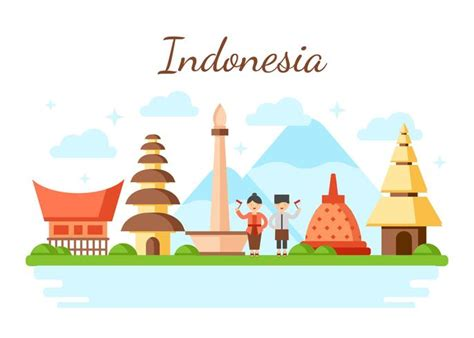 indonesia vector illustration   vectors