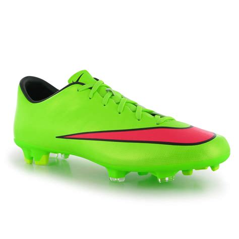 nike green football shoes nike mercurial victory cr7 fg s football boots green