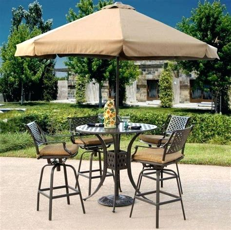 bar height patio umbrella small patio ideas on patio
