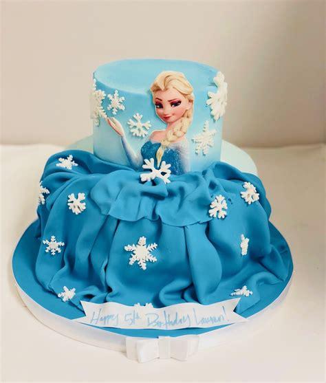 frozen princess dress birthday cake cbg  confection perfection cakes  ordering