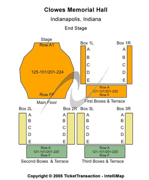 clowes memorial seating chart indiana concert tickets seating chart clowes memorial