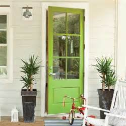 Green Front Door Paint 7 Colorful Front Doors What Color Should I Paint Mine The Inspired Room