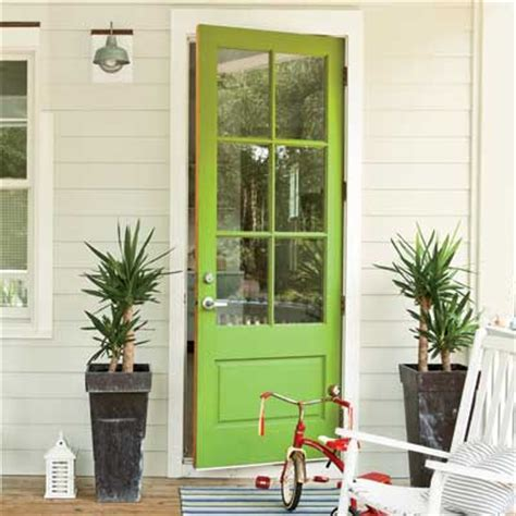 lime green door 7 colorful front doors what color should i paint mine