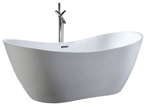 rectangle bathtub helixbath theadelphia freestanding bathtub acrylic white