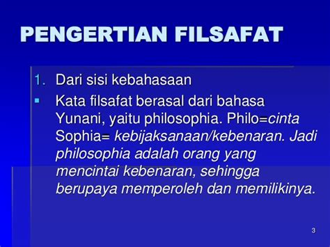Filsafat Bahasa mata kuliah filsafat ilmu